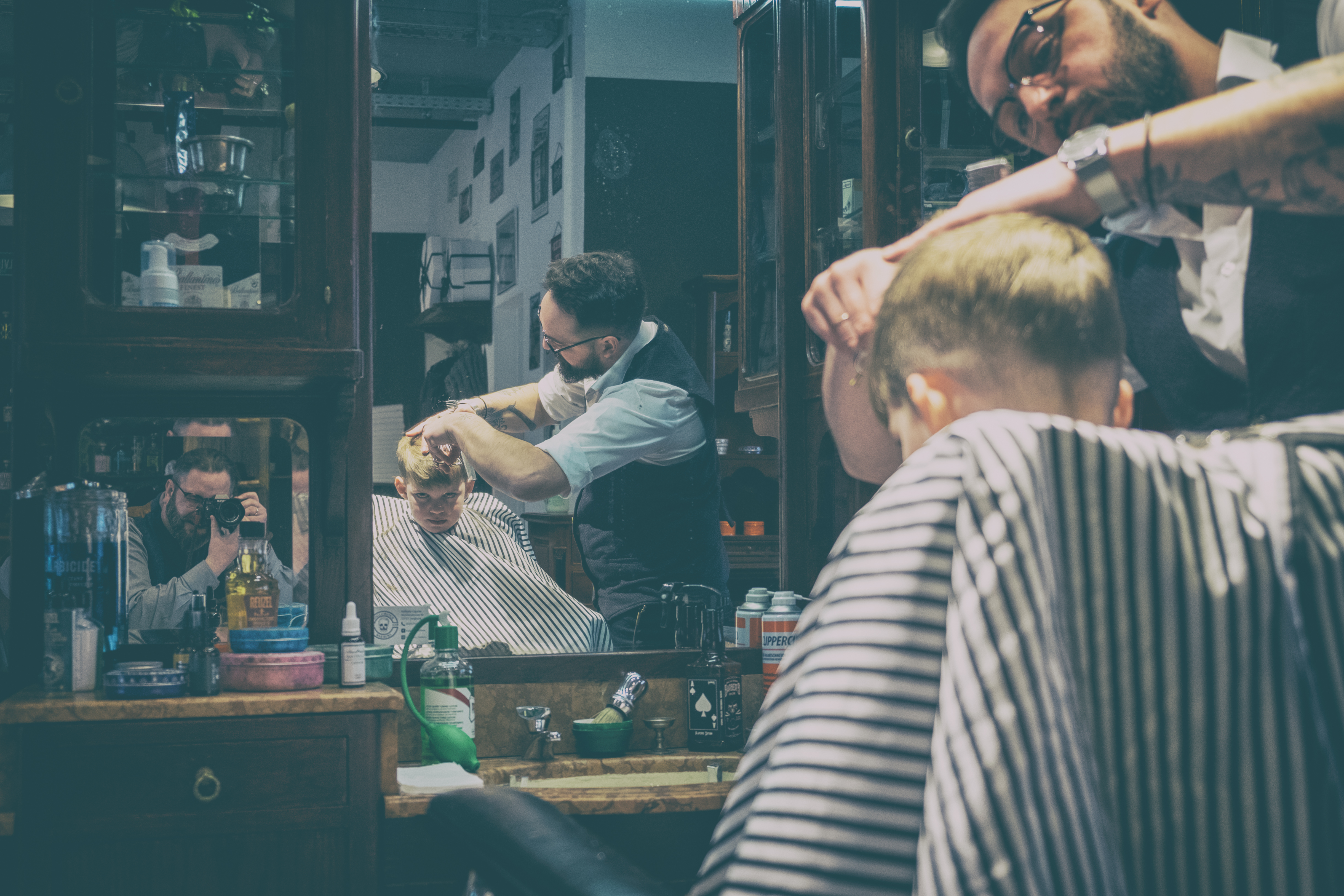 Inglorious Barbers - analog var-3-12